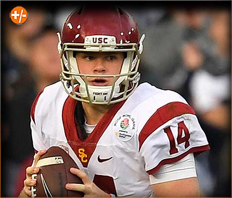 QB Sam Darnold USC | College Football Free Pick, Betting Trends and Vegas Odds