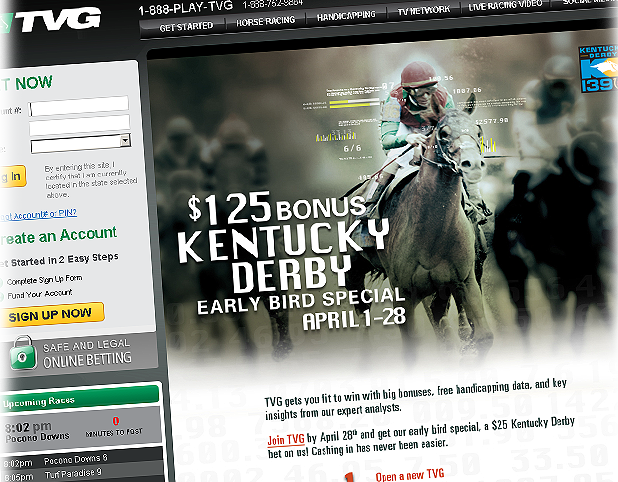 TVG Horse Betting Site Review