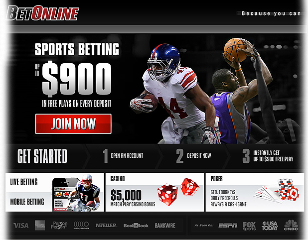 Online Sportsbook Review - BetOnline Sportsbook