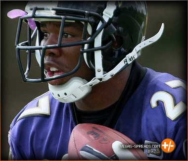 Ray Rice - Baltimore Ravens Betting Odds, Picks & Predictions