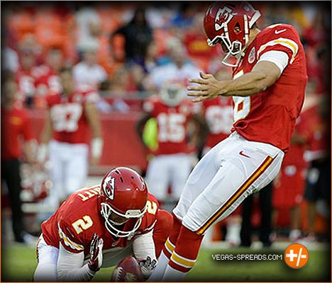 Kansas City Chiefs Ryan Succop - Vegas Odds