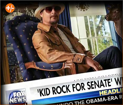 Kid Rock for Senate 2018 - Vegas Odds and Betting Props