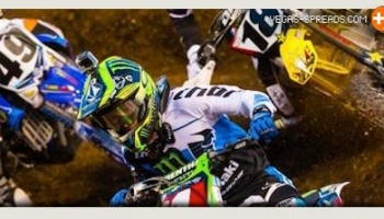 2013 Supercross Final - Villopoto Locked - Millsaps Dungey Battle for Second in SX Championship