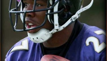 Vegas NFL Odds: Ray Rice Update - Ravens 40/1 Super Bowl Longshot